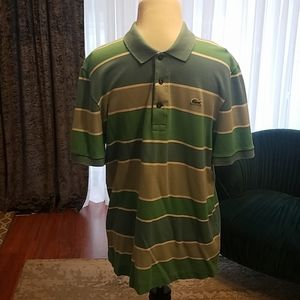 Lacoste mens polo shirt size 5